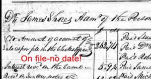 No Date for Thomas Rampley's Sale and Incorrect Book