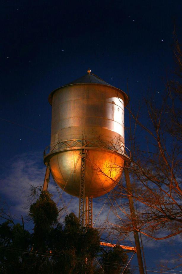 water tower woody
