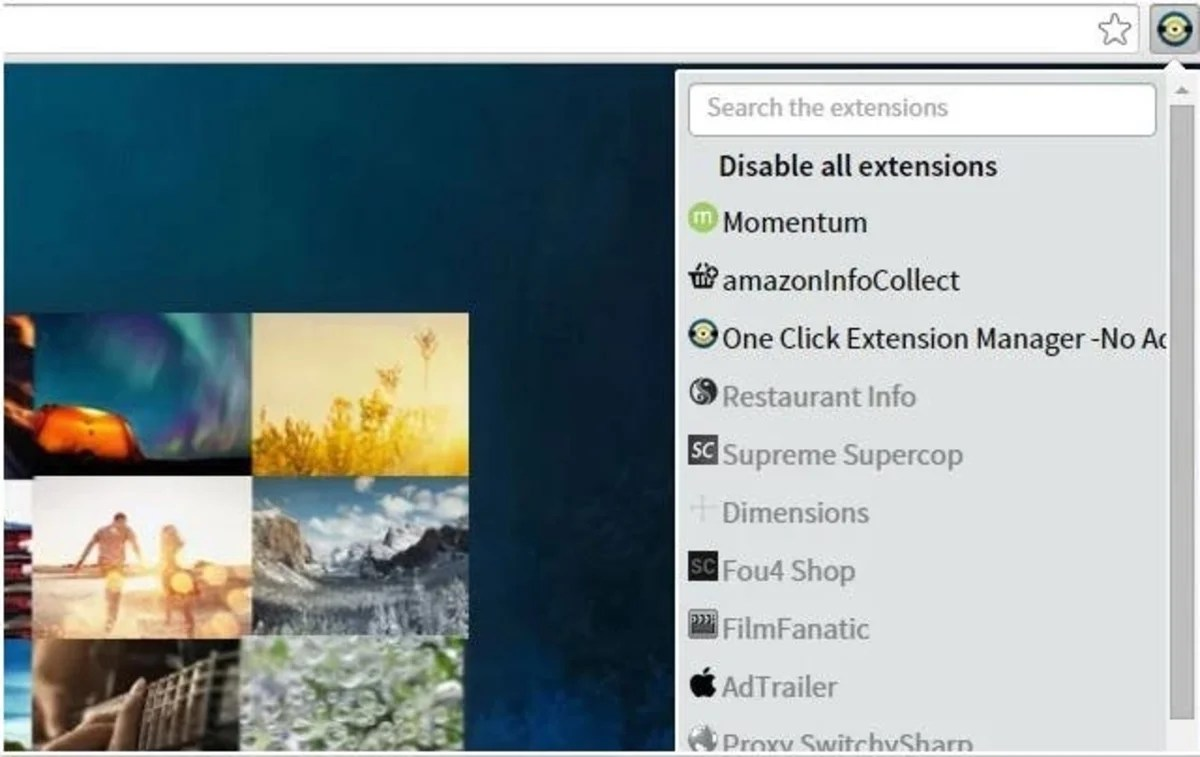 One Click Extensions Manager