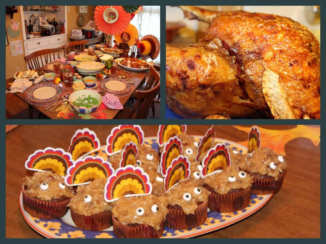 Fried turkey, Thanksgiving