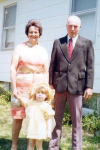 Jim and Doris Rains 1977