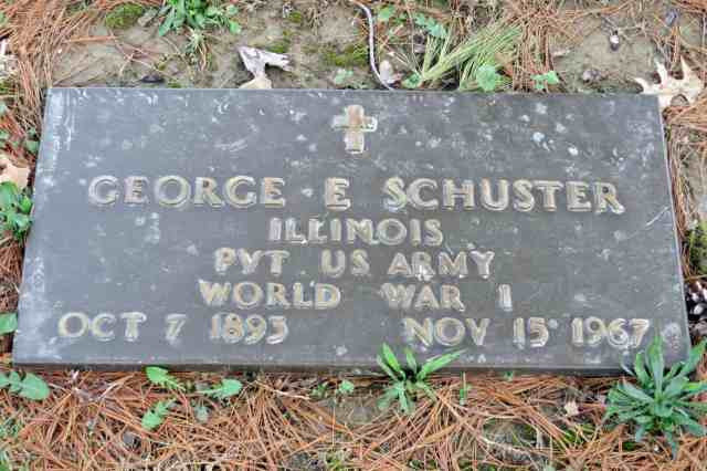 George Schuster headstone
