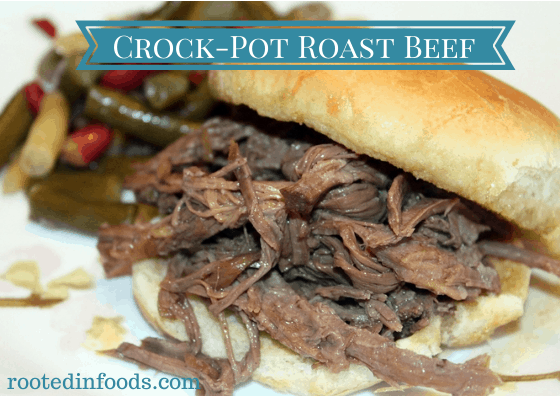 crock-pot roast beef