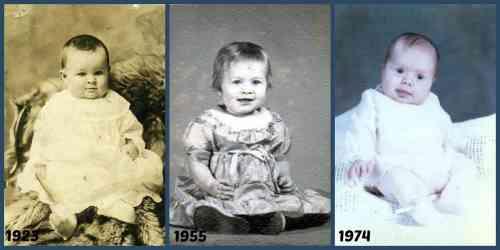#TBT Schuster Raines Moore babies