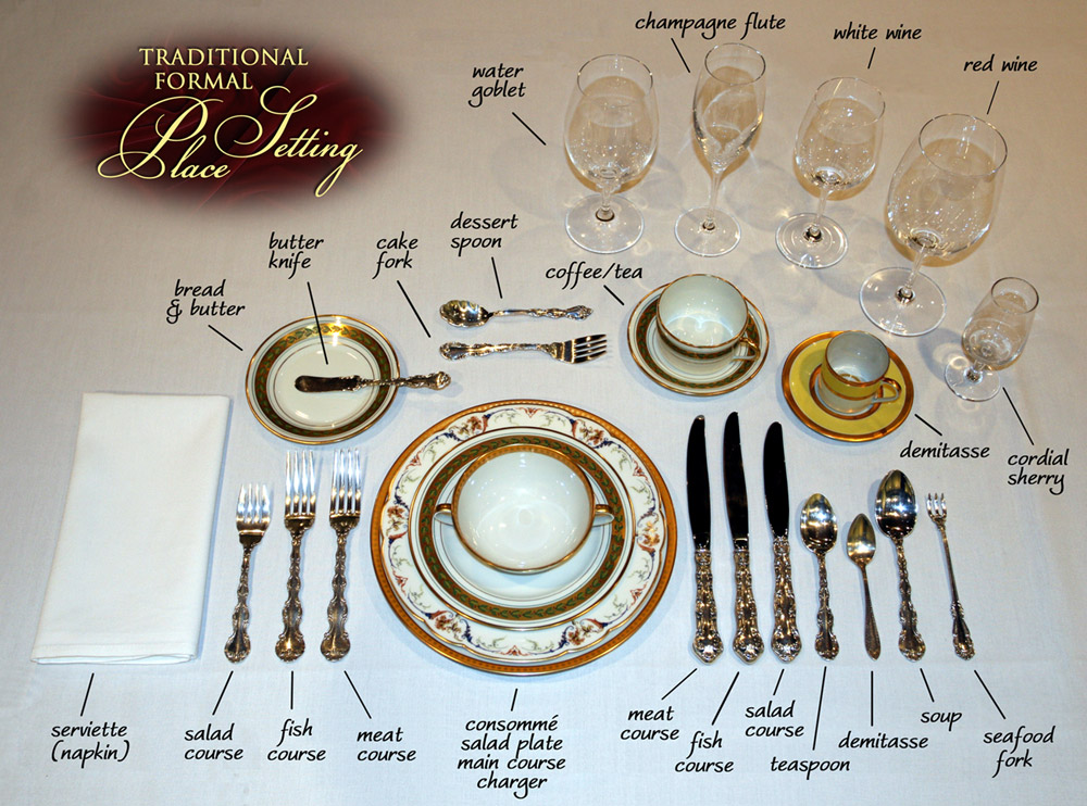 Gentil Royal Table Setting