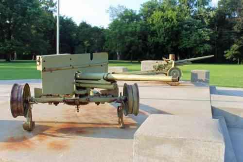 Veterans Monument Gun