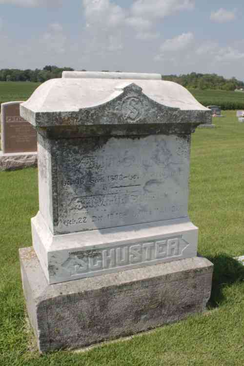 Phillip and Federicka Schuster Genealogy
