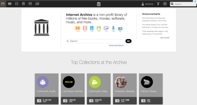 Internet Archive genealogy
