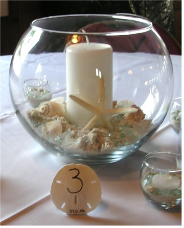 Beach Wedding Centerpieces On A Budget
