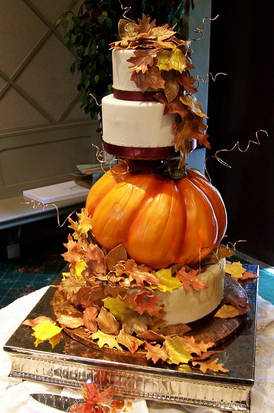 A Pumpkin Inspired Wedding
