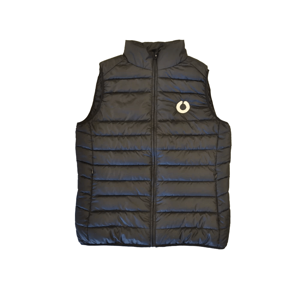 Gyres Gilet, made from recycled polyester