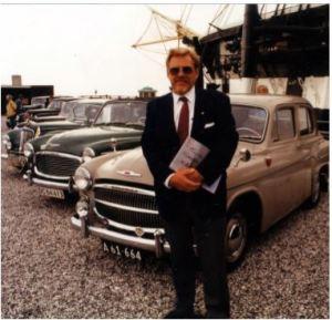 Rootes tur til Ebeltoft i 1994 med modtagelse af Borgmesteren.