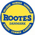 Rootes Danmark logo