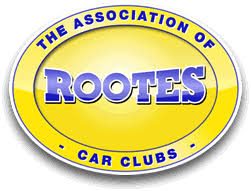 The Association of Rootes Car Clubs logo - Rootes Danmark