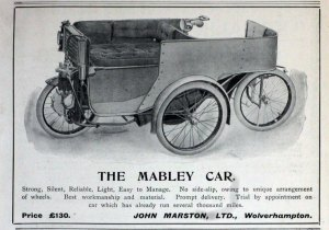 Maberly Car - Rootes Danmark