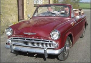 Hillman Minx 1959 – cabriolet - salgs annoncer