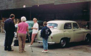 Første træf i 1991 - Tissø Rundt