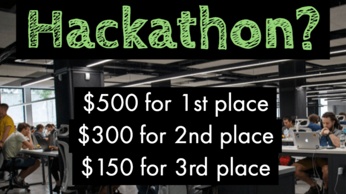 Root Level Technology Hackathon - $500 for 1st place, $300 for 2nd place, $150 for 3rd place