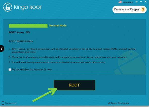 Kingo Root Root Button For Rooting