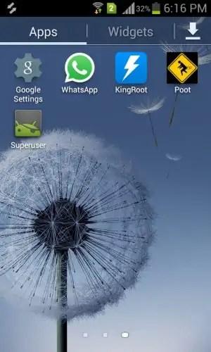 Superuser App Installed