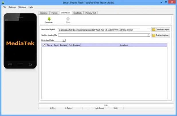 Télécharger Smart Flash Tool SP Flash Tool version 2020