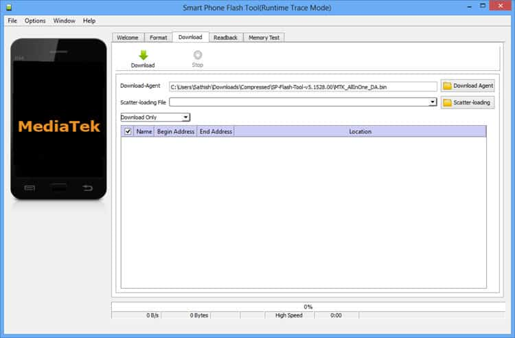 Download Smart Phone Flash Tool SP Flash Tool