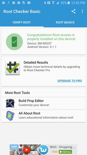 Root Access Available Galaxy Note 5