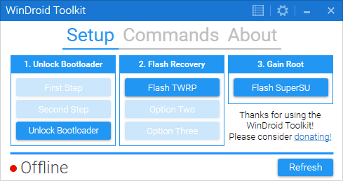 Download WinDroid Toolkit v3.1