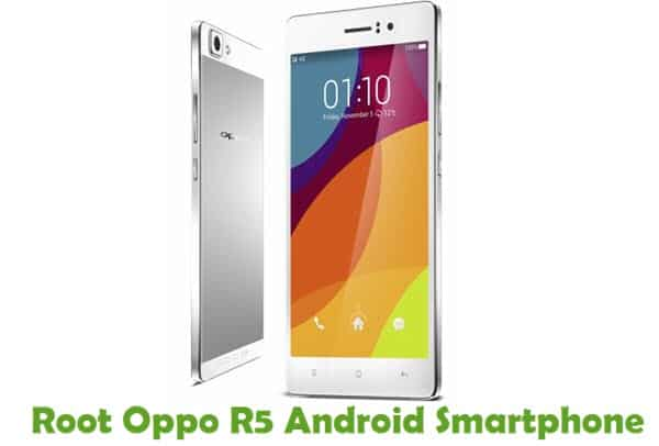 How To Root Oppo R5 Android Smartphone Using iRoot