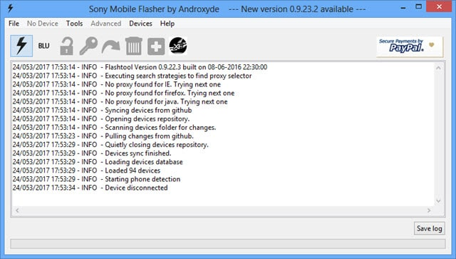 Download Sony Mobile Flasher