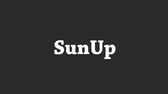 Download SunUp Stock ROM Firmware
