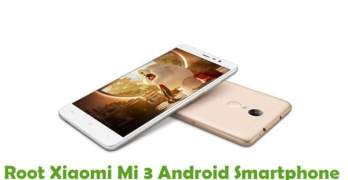 Root Xiaomi Mi 3