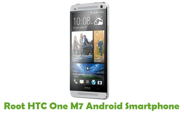 How To Root  HTC One M7 Android Smartphone