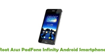 Root Asus PadFone Infinity