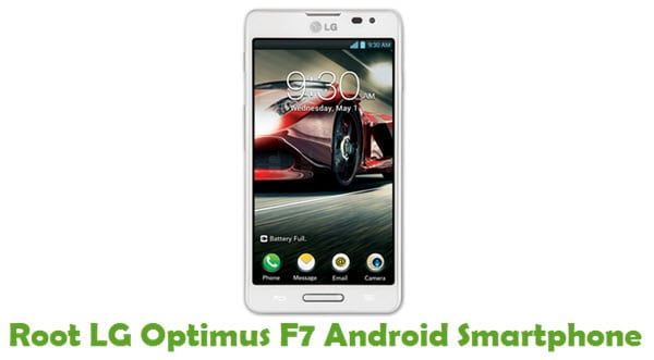 How To Root LG Optimus F7 Android Smartphone