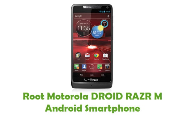 How To Root Motorola DROID RAZR M Android Smartphone