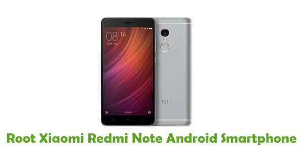 How To Root Xiaomi Redmi Note Android Smartphone