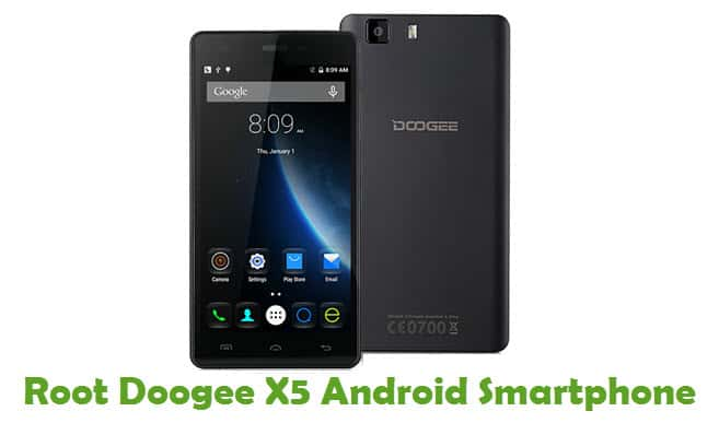How To Root Doogee X5 Android Smartphone