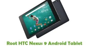 Root HTC Nexus 9