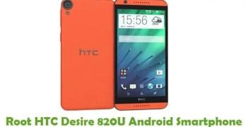 Root HTC Desire 820U