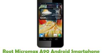 Root Micromax A90