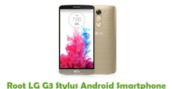 Root LG G3 Stylus