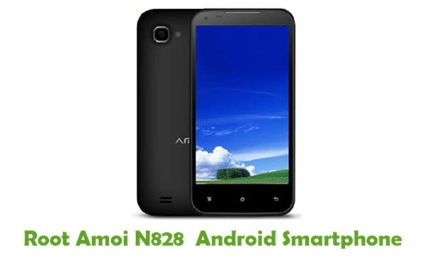 How To Root Amoi N828 Android Smartphone