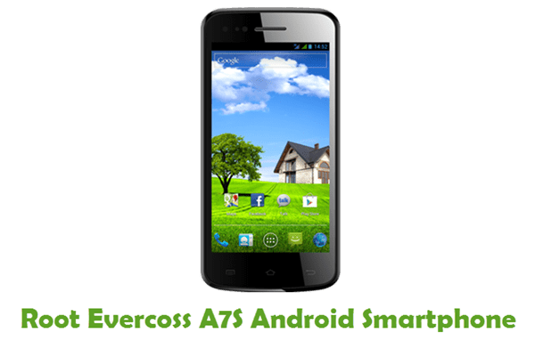Root Evercoss A7S