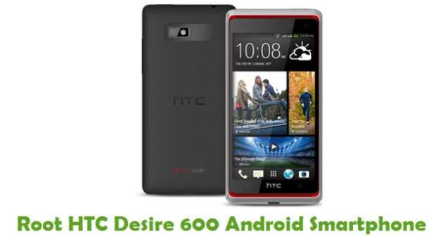 Root HTC Desire 600 Android Smartphone
