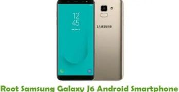 Root Samsung Galaxy J6