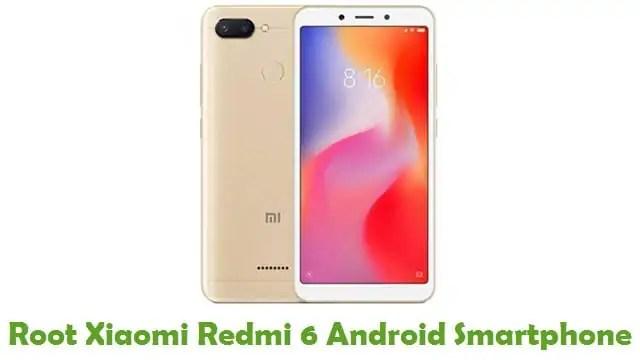 Root Xiaomi Redmi 6