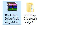 Download and extract Rockchip driver