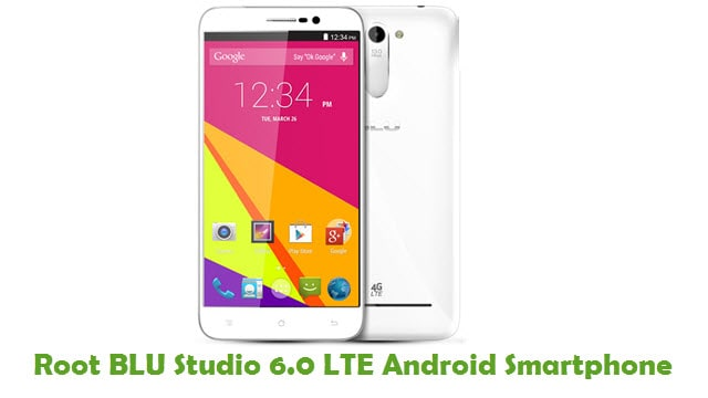Root BLU Studio 6.0 LTE