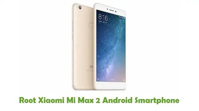 Root Xiaomi Mi Max 2